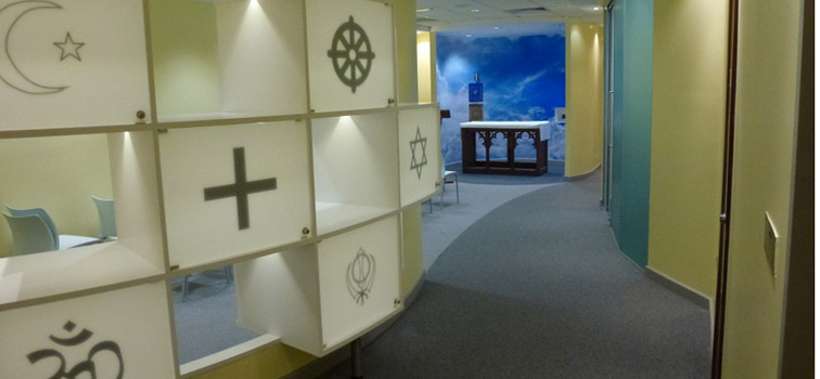 Prayer rooms at work