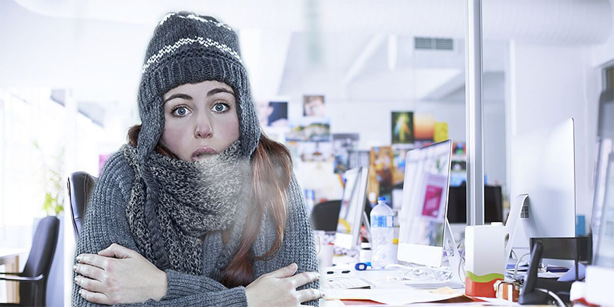Why your office air-con is sexist