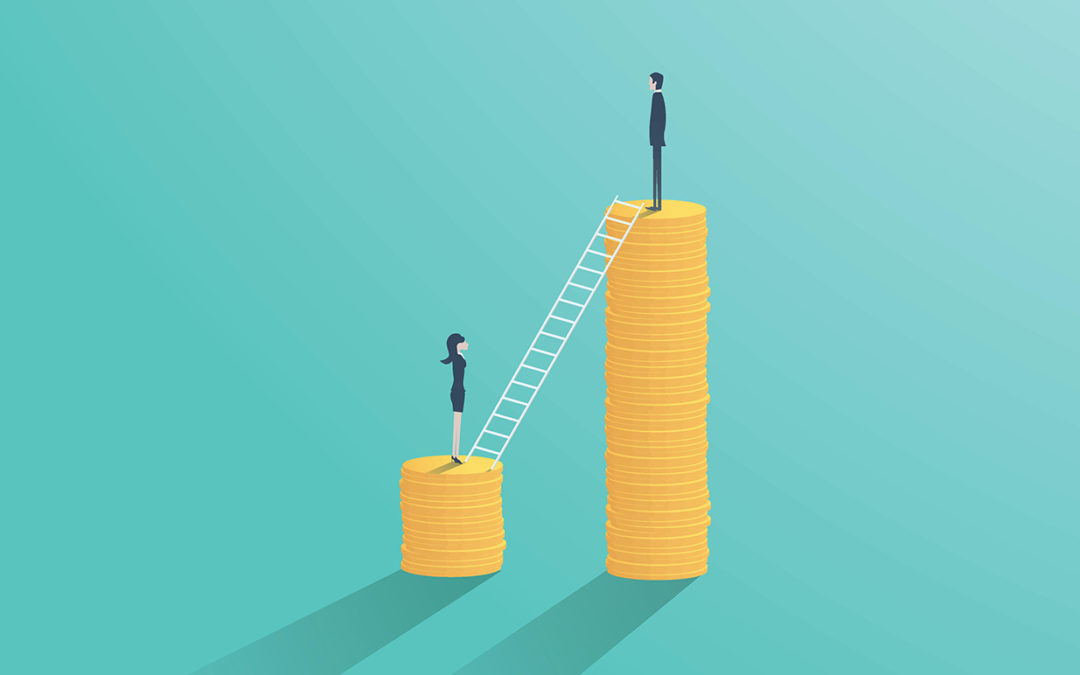 Gender pay gap is widening