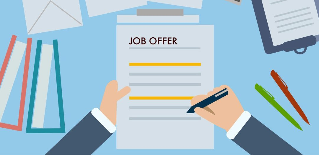 Job offers – changing your mind